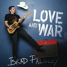 BRAD PAISLEY CD - LOVE AND WAR (2017) - NEW UNOPENED - COUNTRY - ARISTA