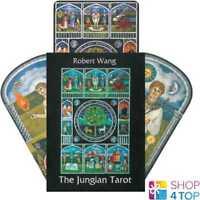 THE JUNGIAN TAROT CARDS DECK ROBERT WANG ORACLE ESOTERIC TELLING NEW