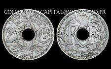 25 Centimes 1917 Souligné. Lindauer. Cote SPL: 280€