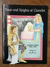 Days and Knights of Camelot, paper dolls by Charlotte Whatley