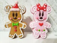 TOKYO Disney Resort Christmas Ornament Mickey&Minnie candy case  Ginger  2012