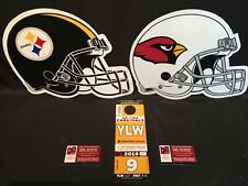 Arizona Cardinals v Pittsburgh Steelers 12/8 Yellow YLW Lot Parking Pass Tickets