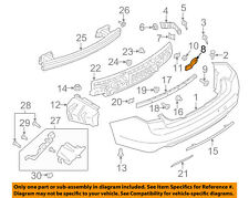 Lincoln FORD OEM 17-18 Continental Rear Bumper-Inner Bracket Left GD9Z17D943A