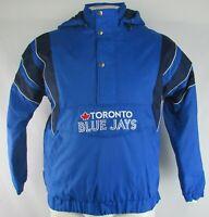 Toronto Blue Jays Men's Blue Starter Heavy Windbreaker w/ Removable Hood MLB L