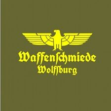 Armeros Wolfsburg Vehículo Pegatina Amarillo WH Adler Vehículos pegatina