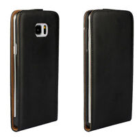 Genuine Luxury Leather Magnetic Flip Case Cover Pouch For Various phone models