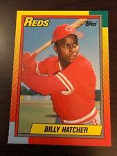 1990 Topps Traded Billy Hatcher Cincinnati Reds 38T