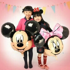 Disney Minnie and Mickey Mouse Face Foil Balloons Decoration​ Girl Party Supply