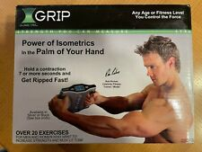 Grip Isometric Strength Trainer, Silver - as seen in Sharper Image - Get Ripped!