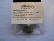 Steatite Stamp Seal - 1st Millenium BC West Asiatic *Free Shipping*