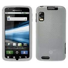 New Protector Durable Hard Shell Case Cover for Motorola ATRIX 4G MB860 - Clear