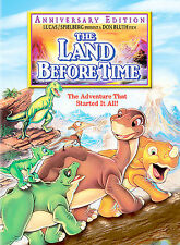 THE LAND BEFORE TIME New Sealed DVD Anniversary Edition Free Ship
