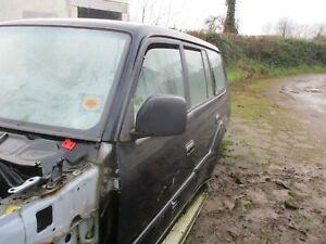 toyota landcruiser colorado wing mirror passenger left 1999 - 03 black electric
