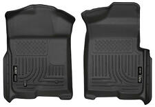 Husky Liners 18331 WeatherBeater Front Floor Mats Black 2009-2014 Ford F150