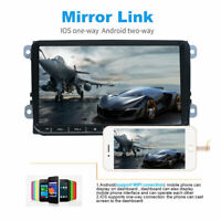 """9"""" Car Bluetooth Android 8.1 Stereo GPS Navi 2 DIN For VW GOLF 5 PASSAT Variant"""