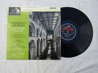 FERNANDO GERMANI LP ORGAN RECITAL AT SELBY ABBEY hmv csd 1449 stereo