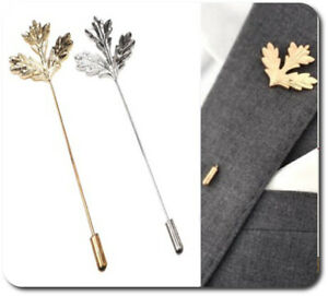 Revers-Pin Spilla Anzug-Pin Steampuk Pin ´ S 2 Colori Foglia Acero