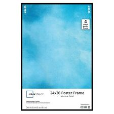 Poster Picture Frames Display Protect Cover Showcase Certificate Multiple Size