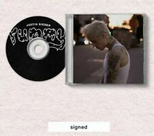 JUSTIN BIEBER YUMMY CD HAND SIGNED/AUTOGRAPHED RARE!!!
