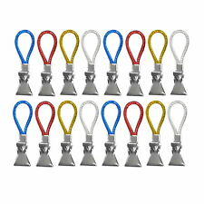 16 Stück Clips für Handtücher Aufhänger Geschirrtuch Handtuchhaken Handtuchclips