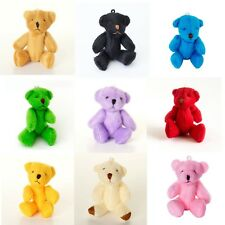 NEW - 9 X Assorted Small Teddy Bears - Cute Cuddly Adorable