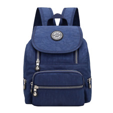 Casual Mini Waterproof Nylon Backpack Purse for Women Girl Small Lightweight Day