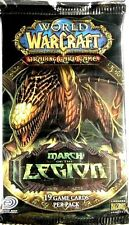 Warcraft * March of the Legion - Booster Pack x 1 * Wow - Homing Chicken Loot?