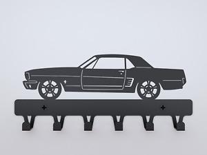 Ford Mustang 1965 hardtop rack wall design Garage gift for men kids room car
