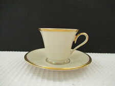 Lenox Eternal 8oz Cup & Saucer Set Preowned