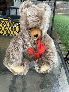 """Adorable Vintage Hermann Teddy Original Teddy Bear Mohair 15"""""""