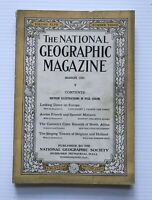 National Geographic Magazine - March 1925 - Looking Down On Europe