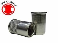 """Steel Zinc Oval Head Semi-tubular Rivets 3//32/""""X1//4/"""" OHTR332140-100pcs"""