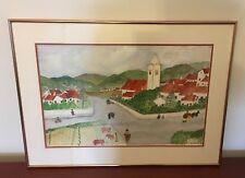 Marion Bramhall Vila do Bispo Portugal Watercolor Painting