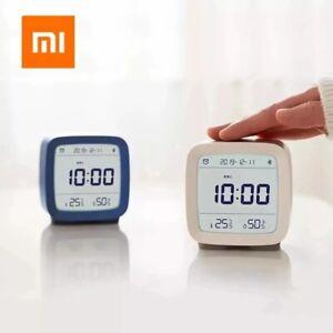 Bluetooth Alarm Clock With Mijia APP White/Blue/Green non-slip