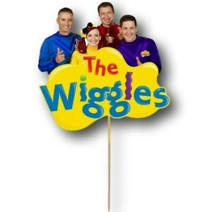 The Wiggles Cake Topper Kids First Birthday Party Decoration Image Cut Card