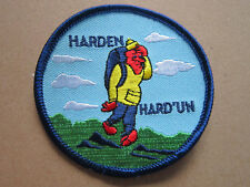 Harden Hard 'Un Walking Hiking Cloth Patch Badge (L3K)