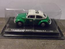 1/43ème ALTAYA - VOLKSWAGEN BEETLE MEXICO D.F 1985