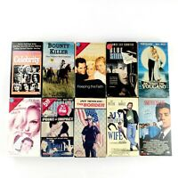 VHS Lot Of 10 Mixed Genre Movies Some Less Common