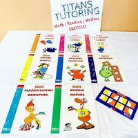 Kindergarten ETA Cuisenaire VersaTiles Reading Language Numbers [NEW 8 Workbook]