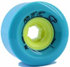 DTC ruedas SERIE M 70mm turquesa Longboard Freeride Slide wheels