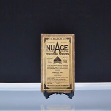 NuAge Black Mounting Corners Vi