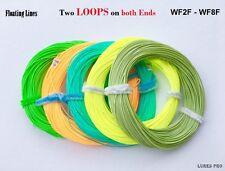 Fishing Fly Line 100Ft Weight Forward 2F 3F 4F 5F 6F 7F 8F welded loops