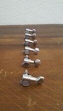 Guitar Machine Heads 'Silver' 6-IN-LINE 6I LI NE M3