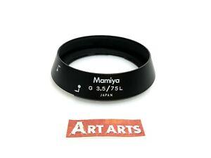【 EXC+++++ 】 Mamiya G 75mm F3.5 L Lens Hood Shade for New Mamiya 6 MF from JAPAN
