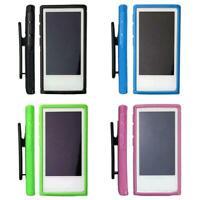 Soft Rubber Gel Case Cover Belt Clip Holder For iPod 7th_Generation Nano 7 A9K7
