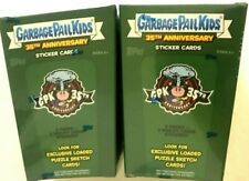 2020 TOPPS GARBAGE PAIL KIDS 35th ANNIVERSARY BLASTER  BOXES ( 2 BOX LOT ) Live