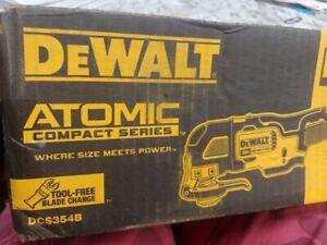 NEW DEWALT DCS354 DCS354B 20V Volt MAX ATOMIC Brushless Oscillating Multi-Tool