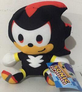 Brand New Licensed Super Sonic the Hedgehog Shadow Plush Toy  15cm