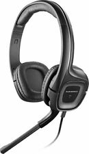 NEW Plantronics Audio 355 Black Multimedia 3.5mm Stereo Headset w/ Microphone