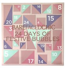 BareFacedChic 🛁 Bath & Body Bubbles Advent Calendar 🎄 Xmas Gift 🎁
